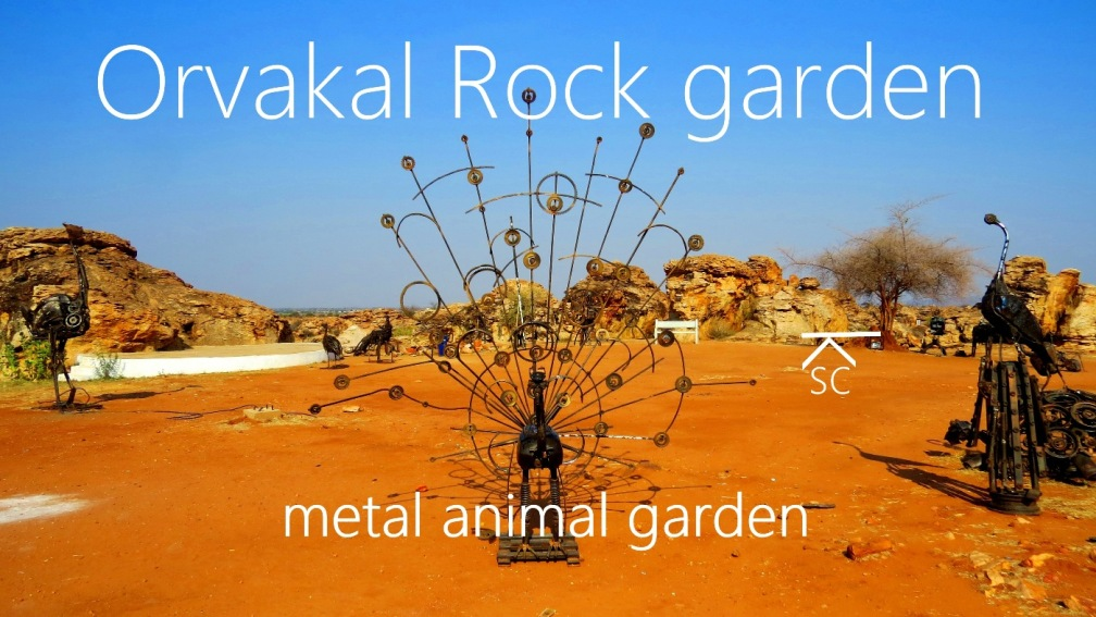 Amazing Rock Formations Of Orvakal Rock Garden in Kurnool, Andhra Pradesh, India