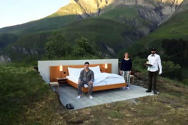 Amazing 'ZERO STAR' Hotel: Outdoor Hotel with Mountain view!