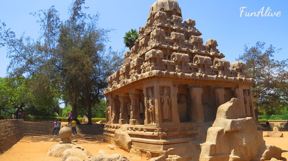 Wonderful Monuments Of Mahabalipuram