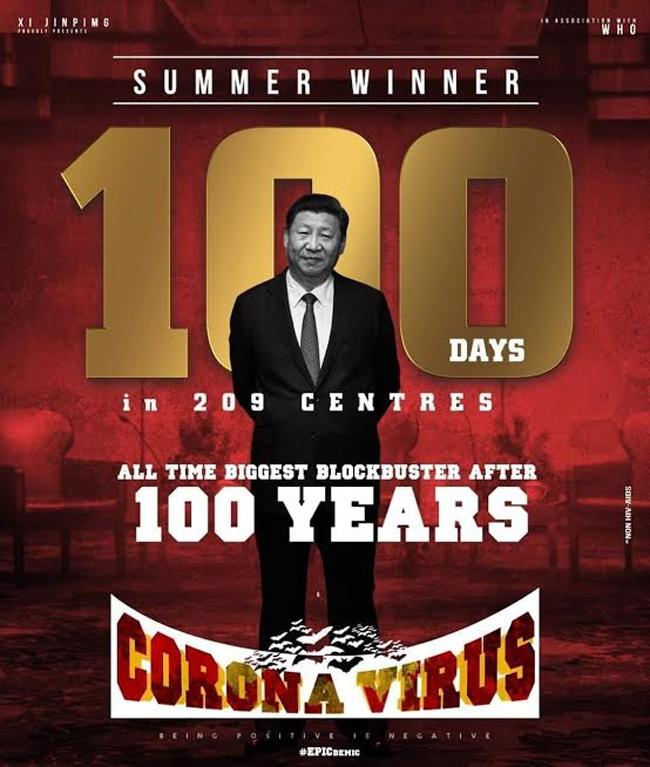 Pic Talk: Corona Virus-The Summer Winner!