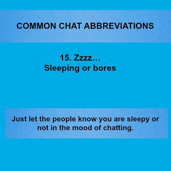 20 Popular Text & Chat & WhatsApp Abbreviations