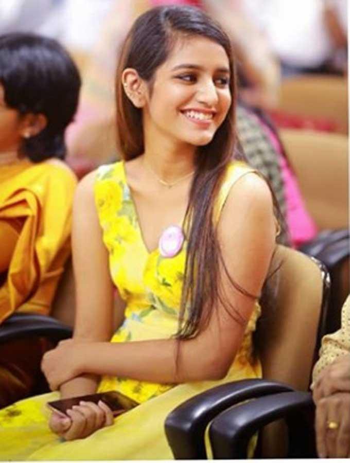 Priya Prakash Varrier Latest Photos
