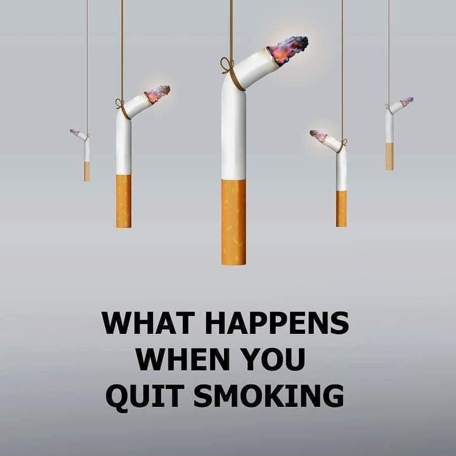 Quit Smoking: What Happens When You Quit Smoking! (10 Pics)