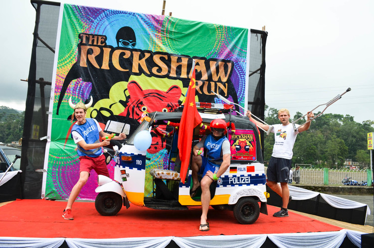 The Rickshaw Run - 3,500km Indian Adventure For Charity