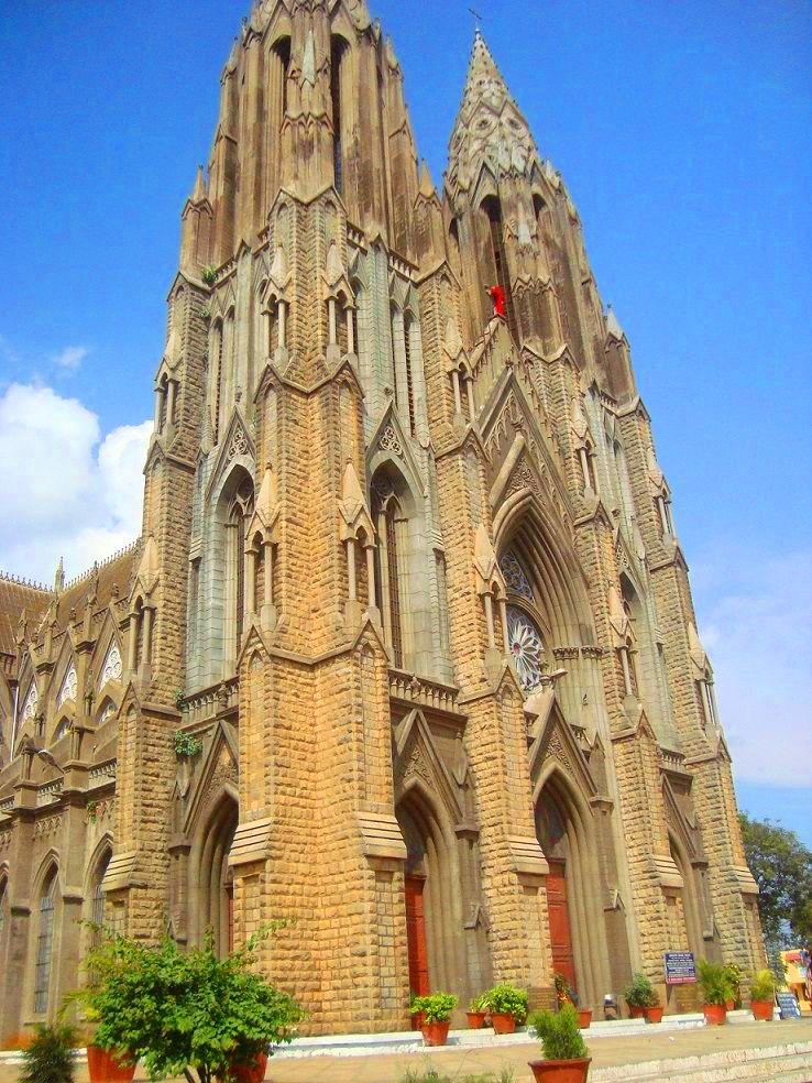 St. Philomena's Cathedral, in Mysore, Karnataka, India