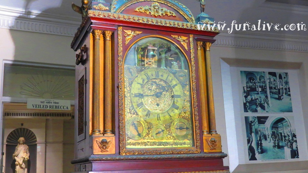Musical Clock At Salar Jung Museum