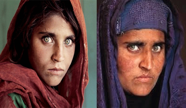 Sharbat Gula - The iconic face of refugee struggle of Afghan woman
