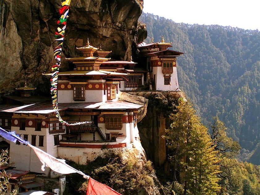 Taktsang Monastery in Paro, Bhutan