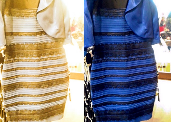 White And Gold Or Black And Blue - The Science Of Why This Dress Looks Different Colors To Different People