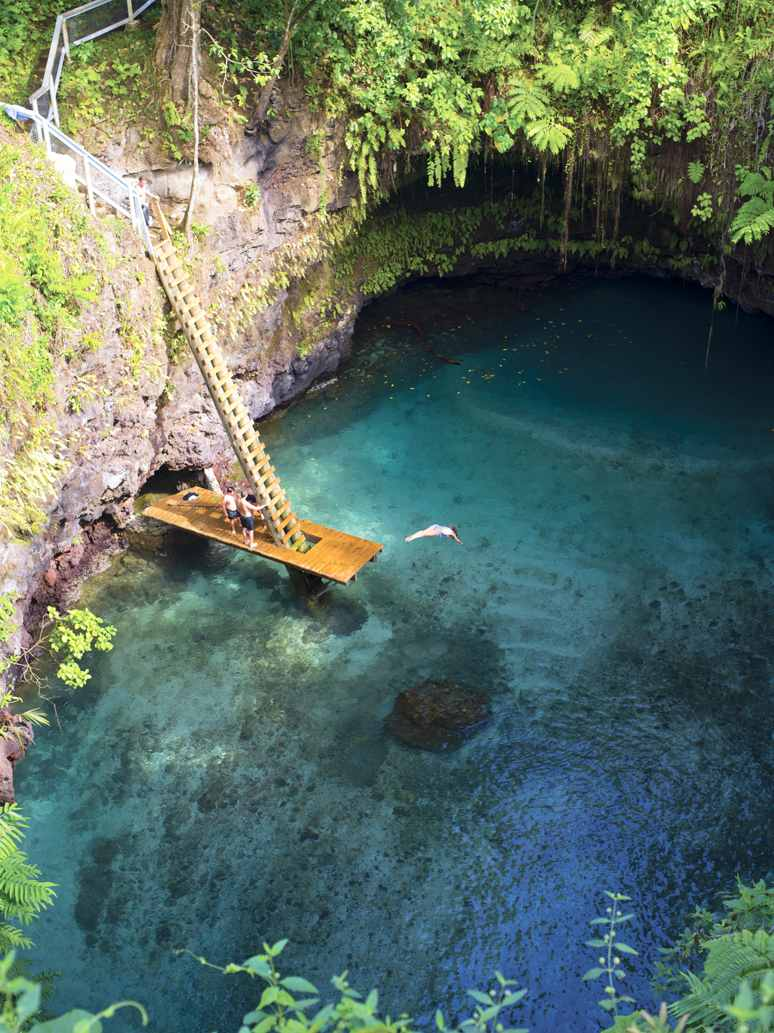 Top 5 Most Amazing Natural Swimming Pools Around The World