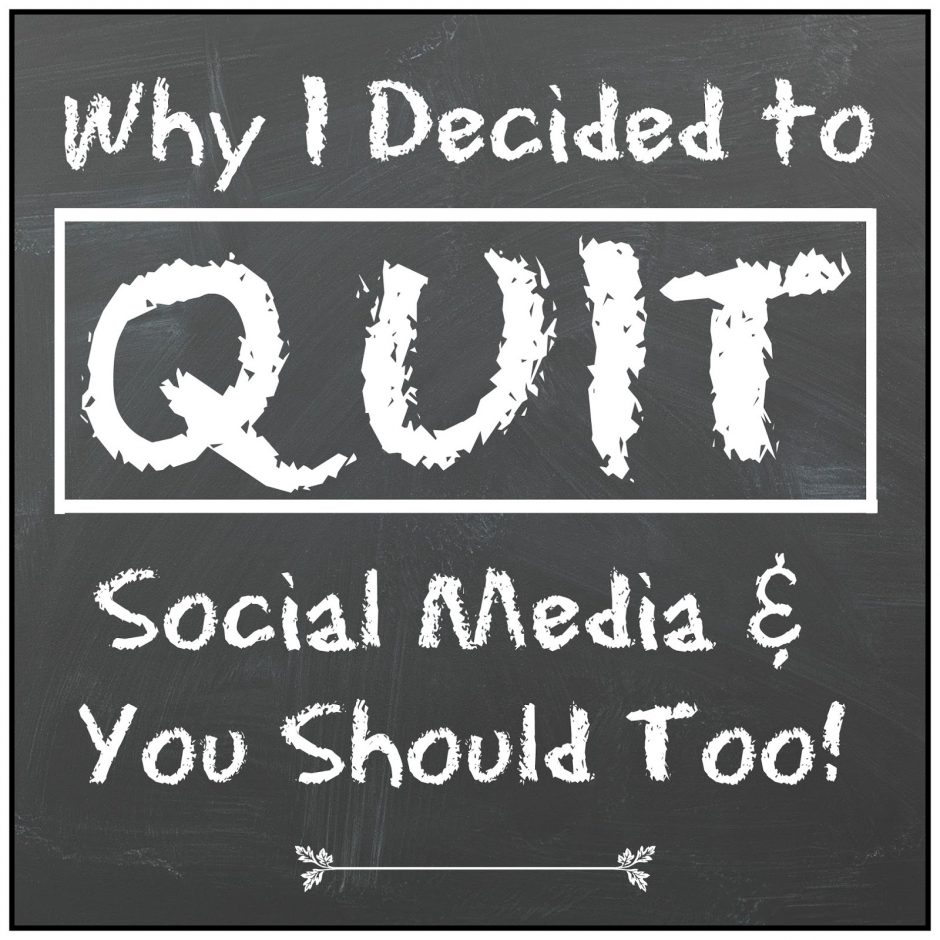Quit Social Media - Is Your Phone is trying to control your life?