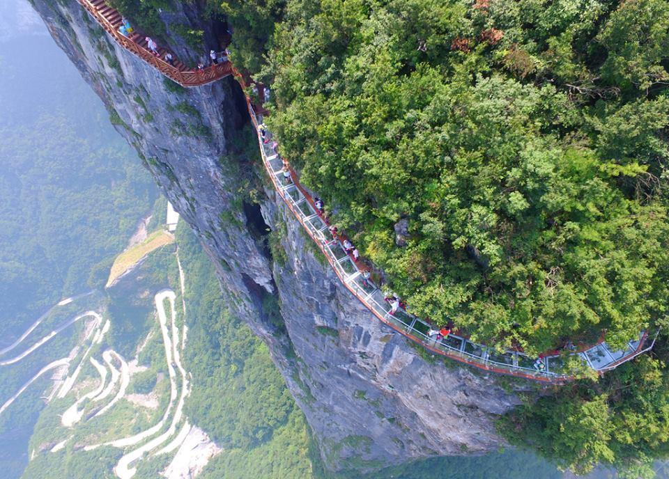 Amazing and Beautiful Zhangjiajie National Park in China