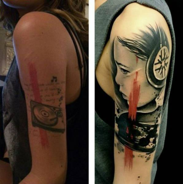A Really Bad Tattoo Needs A Really Good Cover Up (16 Pics)