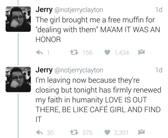 A Touching Love Story Between Two Baristas Livetweeted By A Customer (6 pics)