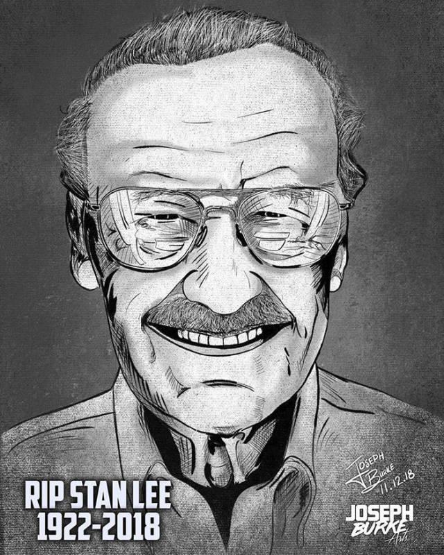 #StanLee - Absolutely Breathtaking Tributes To Stan Lee (45 pics)