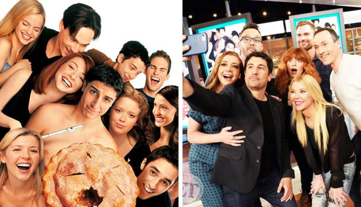 Hollywood Celebrities, Reunite! (22 Pics)