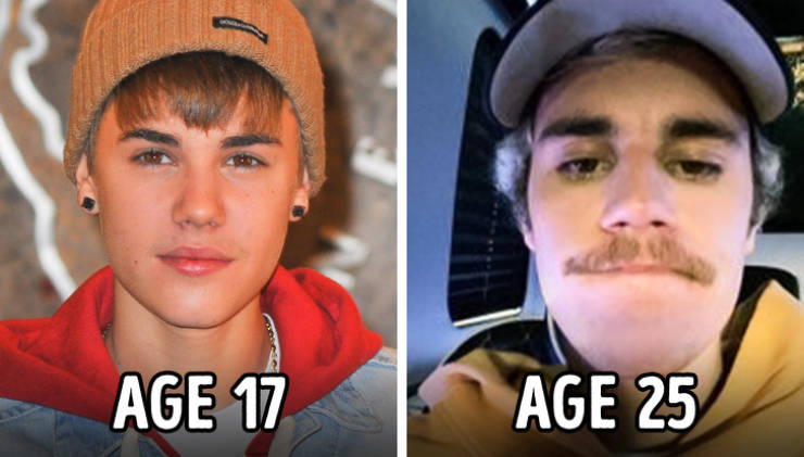 Age Has Radically Changed These Celebs (18 pics)