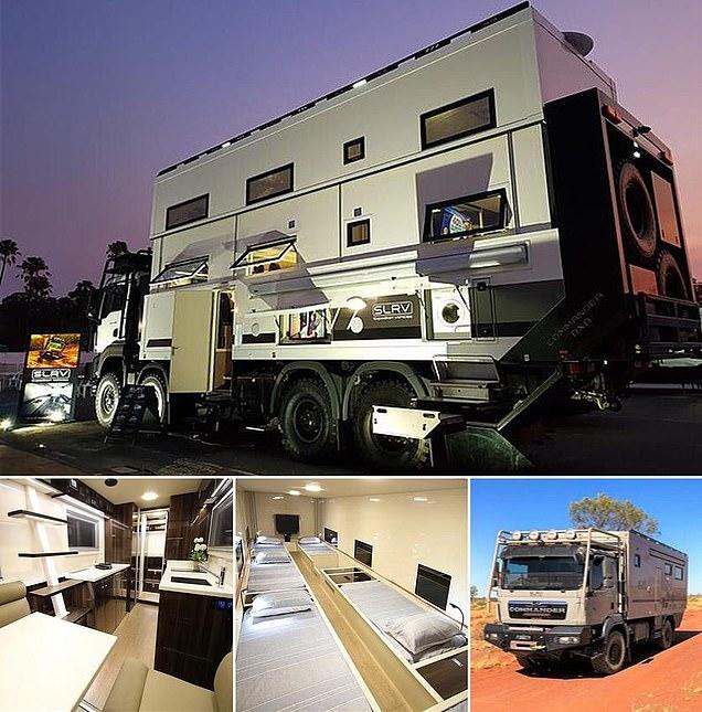 Inside the most elaborate campervan EVER! (15 Pics)