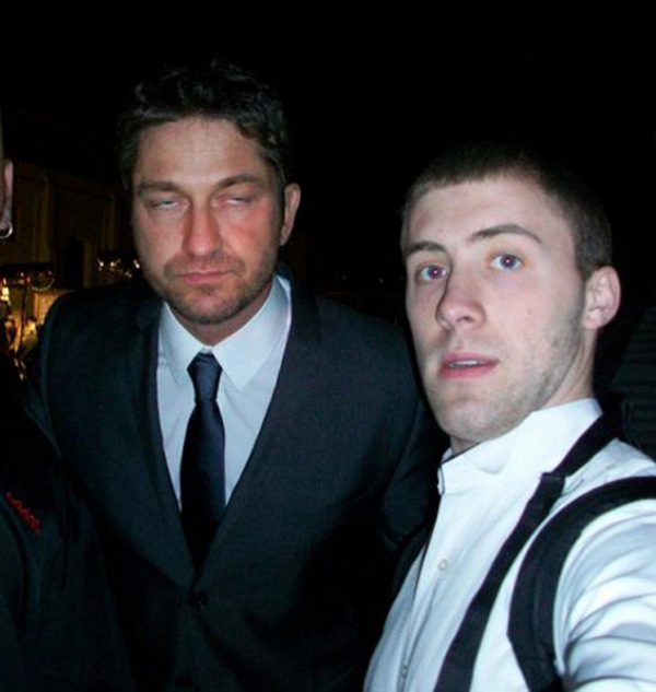 22 Awesome And Awkward Encounters With Celebrities Caught On Camera