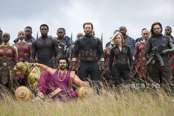 Avengers with Baahubali - Chinese Fans Make Memes On Baahubali Avengers: Infinity War