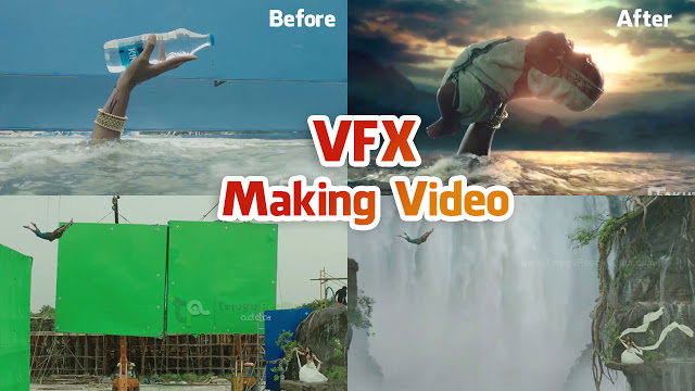 Baahubali - The Beginning VFX Making Video | Rajamouli | Prabhas