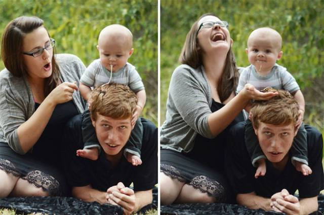 Babies Start Photobombing Straight From The Cradle! (25 pics)