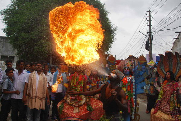 Bonalu Celebrations in Hyderabad, Telangana | Festivals
