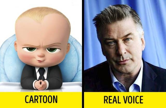 Here's Who Really Voiced Your Favorite Cartoons (13 pics)