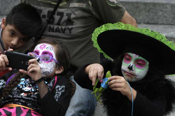The Day of the Dead is a Mexican holiday