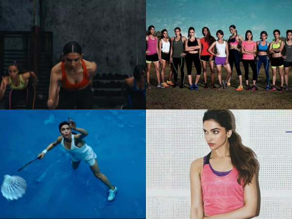 Deepika Padukone in Nike's Da Da Ding video song