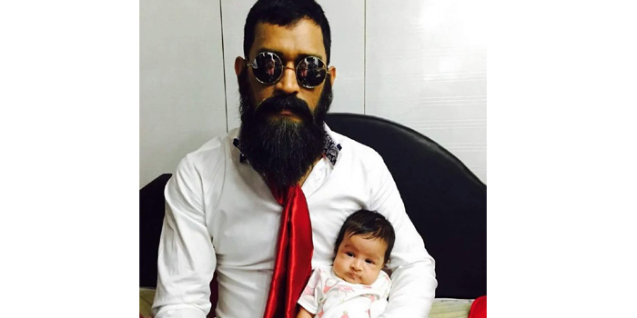 Mahendra Singh Dhoni's New Picture With Daughter Ziva