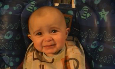 The most emotional baby ever!