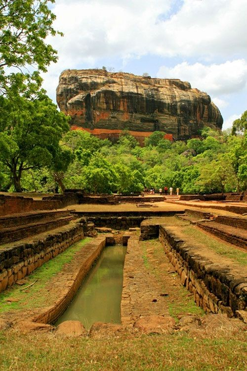 Sigiriya - The Ancient Kingdom Built On The Lion Rock In Srilanka