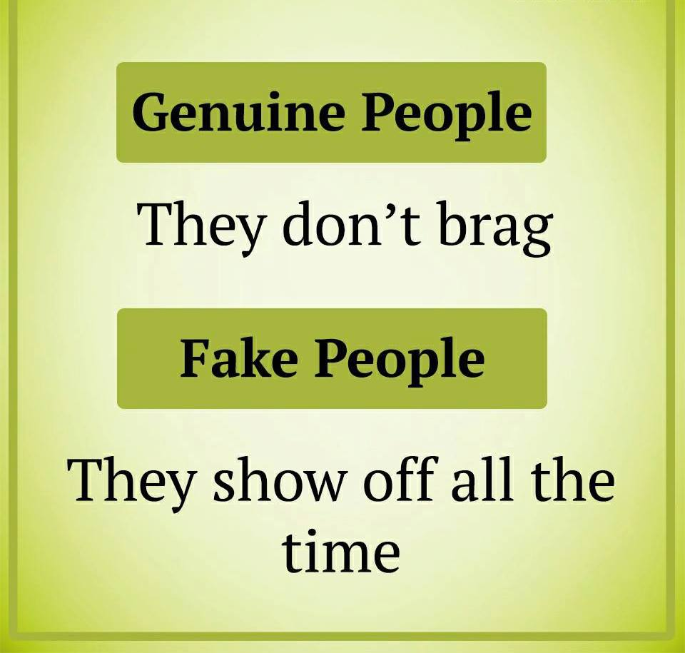 Be Aware Of This Fake People Vs Genuine People 22 Pics