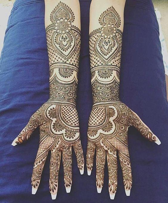 100+ Most Beautiful and Amazing Mehndi Designs