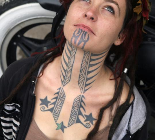 26 Cool Female Tattoos