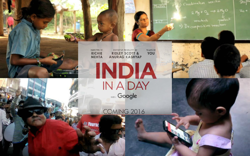 India In A Day -  India's first crowd sourced feature film!