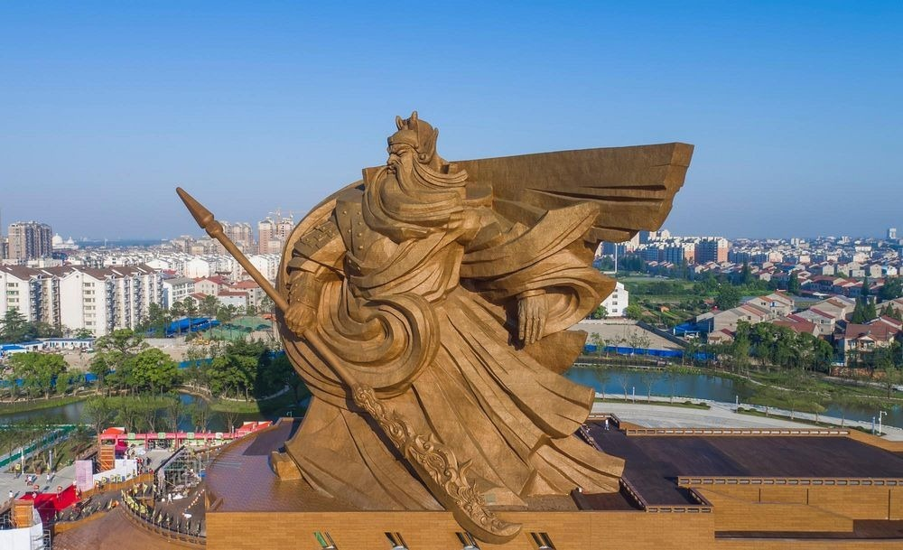 Colossal Statue of Guan Yu in Jingzhou