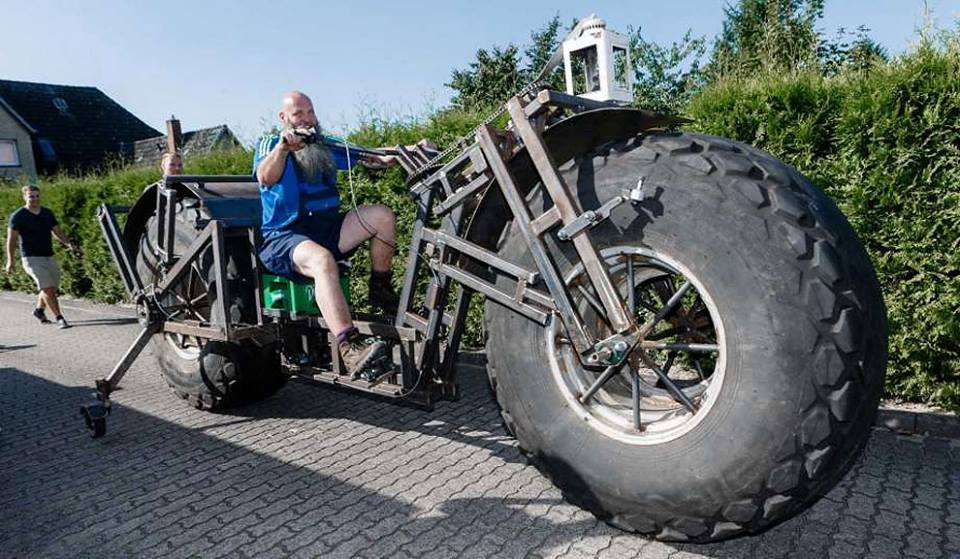 Heaviest Bike In The World