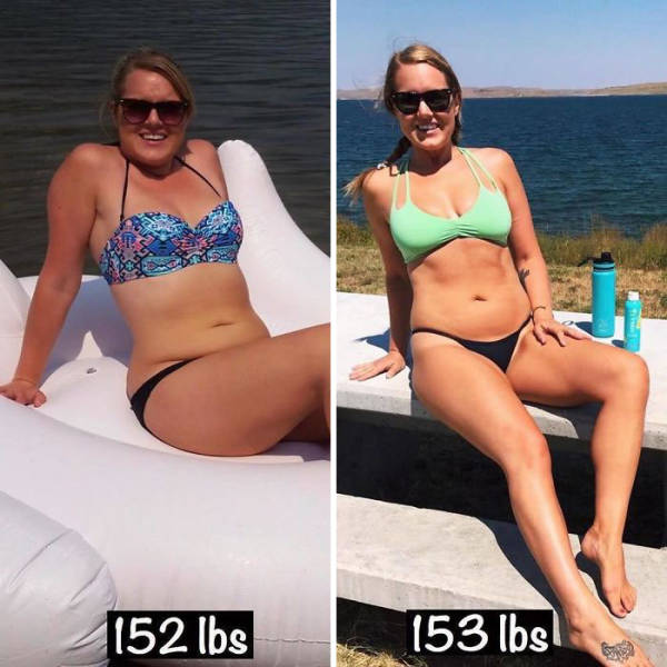 Here's Why Getting Fit Doesn't Always Mean Losing Weight (26 pics)