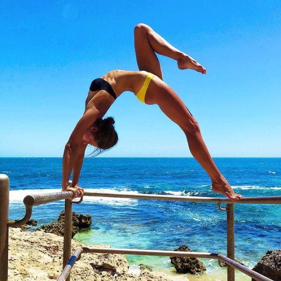 69 Flexible Ladies Showing Off Their 'YOGA' Skills