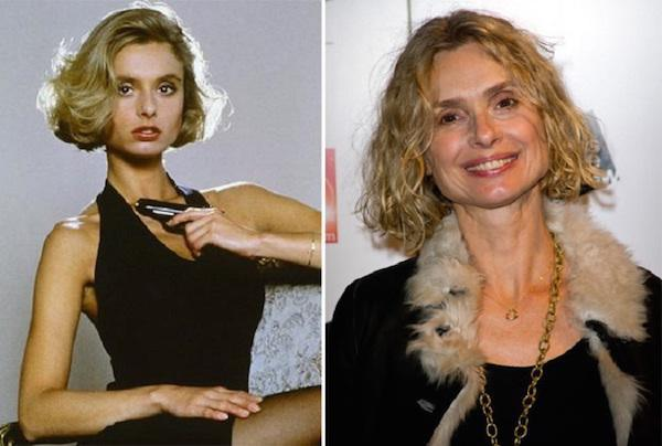 Iconic James Bond girls back in the day and today (31 Photos)