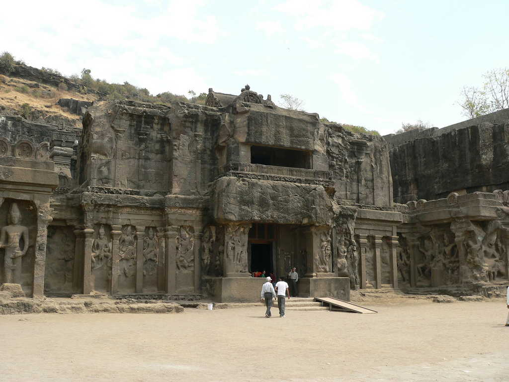 Most Amazing Kailash Temple in Ellora Caves, Maharashtra, India
