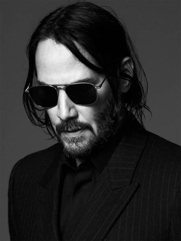 """Keanu Reeves Becomes The New Face For """"Yves Saint Laurent"""" Men's Collection, And The Internet Is Loving It"""