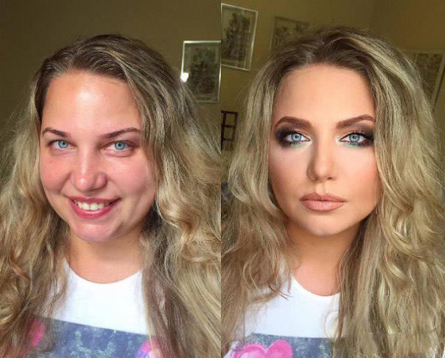 The Magic of Makeup - Before & After Transformation (21 Pics)