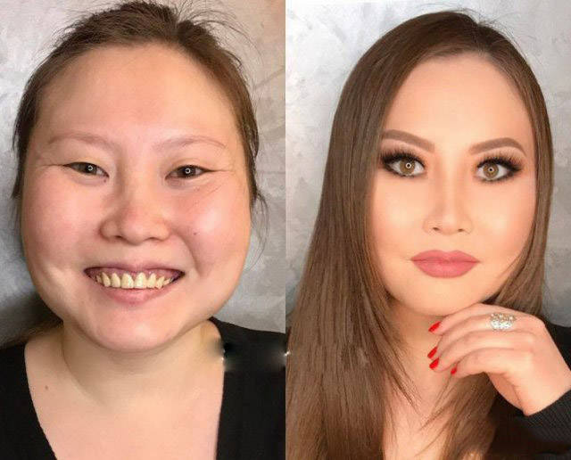 The Magic Of Makeup Before After Transformation 21 Pics