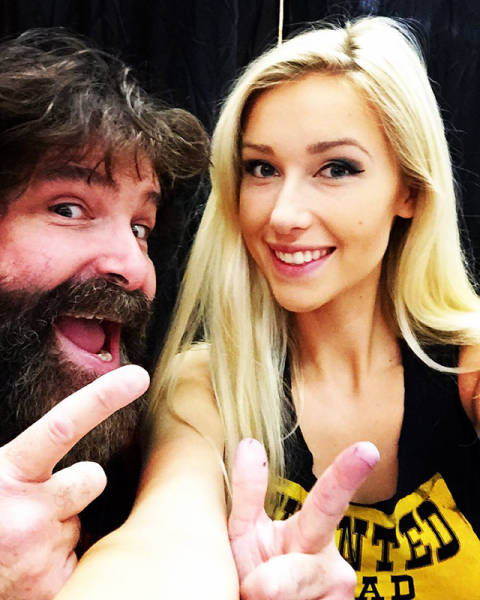Mick Foley's Daughter Could Kill You With Her Smile (16 pics)