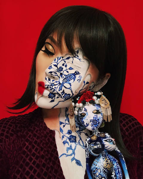 Mimi Choi's Amazing Illusory Make Ups Will Mess With Your Eyes (30 pics)