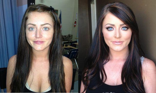 Makeup Magic   (14 Pics) [Part 1]