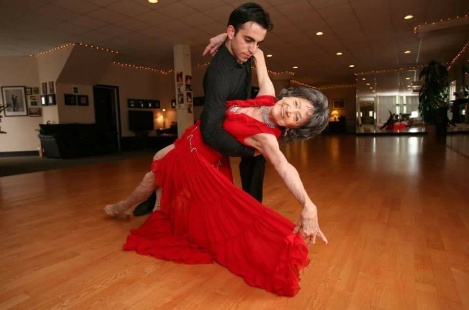 Meet The World's Oldest Yoga Teacher and Ballroom Dancer